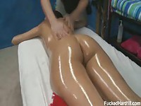 Erotic and sensual full body massage