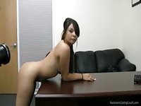 Petite slut banged hard in audition