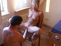 Amateur girl gets fisted hard
