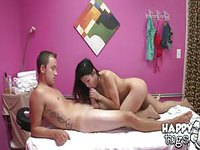 Tattooed lad got laid with a sexy hot chick