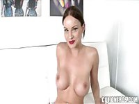 Smoking hot Latina plays with her pussy