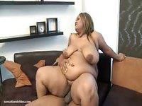 Big black babe taking big dick
