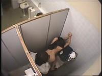Asian schoolgirl has sex in public bathroom for money