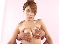 Cute Asian gives guy incredible boob fuck