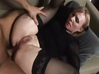Mature blonde woman still knows how to fuck