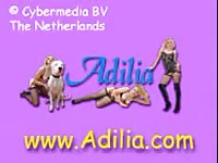 Adilia - Amateur girlfriend lets her man records while she engages in bestiality suck and fuck with K9