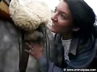 AnimalPass - Hungry for cum this beast sex curious newcomer treats a horse to a fantastic blowjob