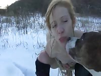 Nadya eats cum and poo from teamrussia zoo zooporn zoo porn - Zoo Porn Dog Sex, Zoophilia