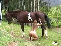 Patricia horse 2 part 2 - C700 Zoophilia