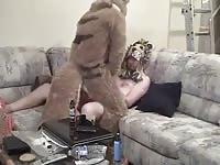 Fucking The Big Bad Wolf 1 GayBeast Rip - Man Fucks Animal
